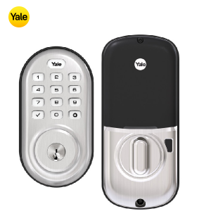 Yale YRD216-ZW2-619 Keypad Deadbolt Z-Wave Lock-Satin Nickel