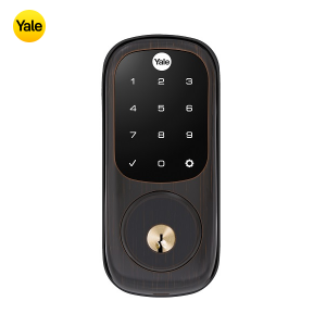 Yale YRD226-ZW2-0BP TouchScreen Deadbolt Z-Wave Lock-Oil Rubbed Bronze
