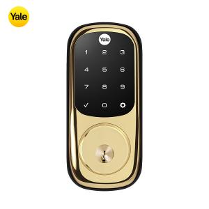 Yale YRD226-ZW2-605 TouchScreen Deadbolt Z-Wave Lock-Polished Brass
