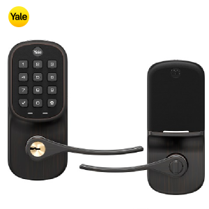 Yale YRL216-ZW2-0BP Keypad Deadbolt Z-Wave Lock- Oil Rubbed Bronze