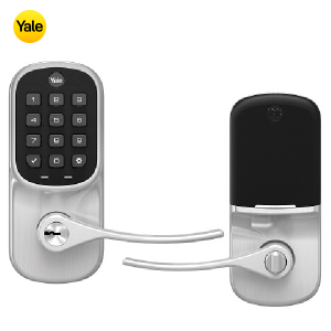 Yale YRL216-ZW2-619 Keypad Deadbolt Z-Wave Lock- Satin Nickel