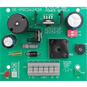 WBOX 0E-PSCD6242A 2.5 Amp Power Supply Module 6, 12 or 24VDC