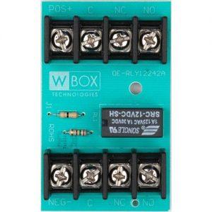 WBOX 0E-RLY12242A Relay 12/24VDC @ 2A DPDT