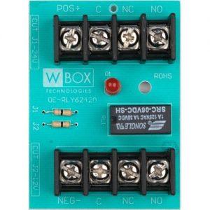 WBOX 0E-RLY6242A Relay 6-12-24 VDC @2A DPDT