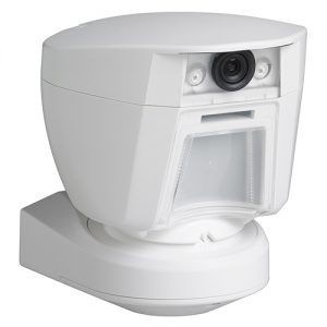DSC PowerG PG9944 915MHz Wireless Outdoor PIR Security Motion Detector with Camera