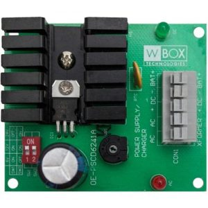 WBOX 0E-PSCD6241A 1.2 Amp Power Supply Module 6, 12, or 24VDC